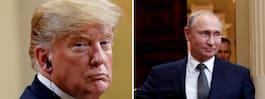 """Trumps vändning – """"accepterar"""" underrättelsetjänstens slutsats"""