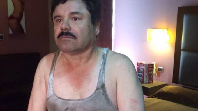 Knarkkungen El Chapo greps i fredags, dagen efter publicerar tidningen Rolling Stone en intervju som kan ha lett till själva gripandet. Foto: XINHUA