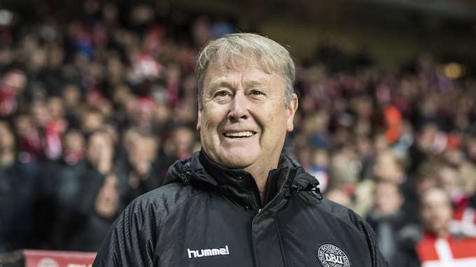 Danmarks förbundskapten Åge Hareide. Foto: ©ANDERS KJAERBYE / IBL