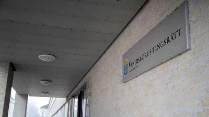 Mannen åtalas för djurplågeri vid Vänersborgs tingsrätt. Foto: BJÖRN LARSSON ROSVALL / TT NYHETSBYRÅN