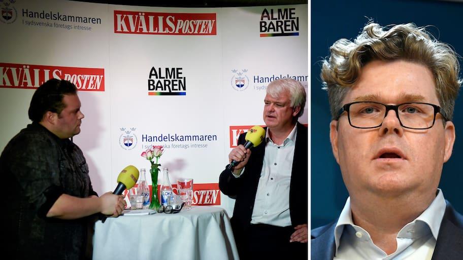 Moderaternas partisekreterare ska frågas ut i Kvällspostens Almebaren – kom dit du också