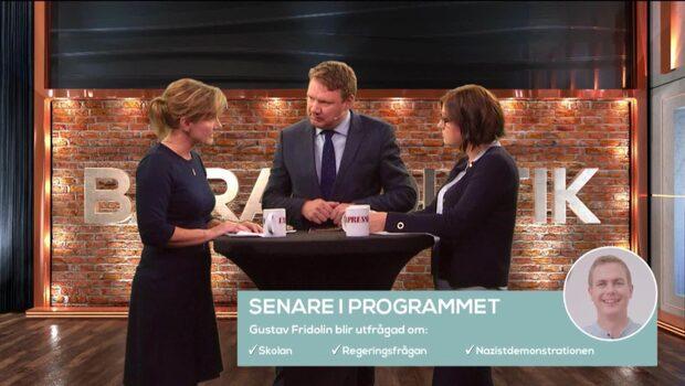 Bara politik 27 september: Se hela programmet