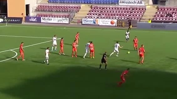 Höjdpunkter: Häcken-AFC Eskilstuna