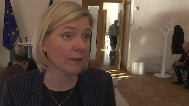 """Magdalena Andersson: """"Mina känslor har inte påverkat beslutet"""""""