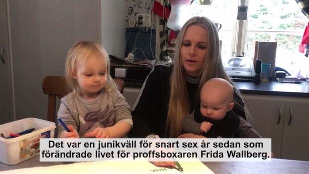 Nya livet för Frida Wallberg - efter knocken som avslutade karriären