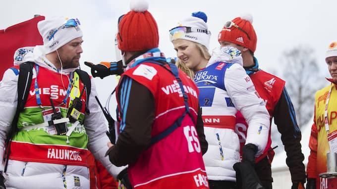 Förbundskapten Rikard Grip är hemlighetsfull. Foto: NILS PETTER NILSSON