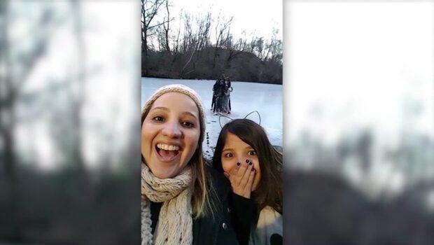 Ungdomarna skulle ta en selfie - hamnade på sjukhus