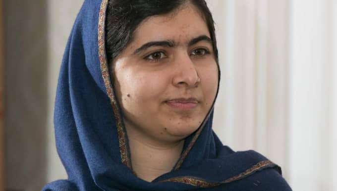 """""""Ju mer du pratar om islam och illa om muslimer, desto fler terrorister skapas"""", säger Malala Yousafzai, 18, till presidentkandidaten Donald Trump. Foto: Dave Warren/Lnp/Rex/Shutterstock"""