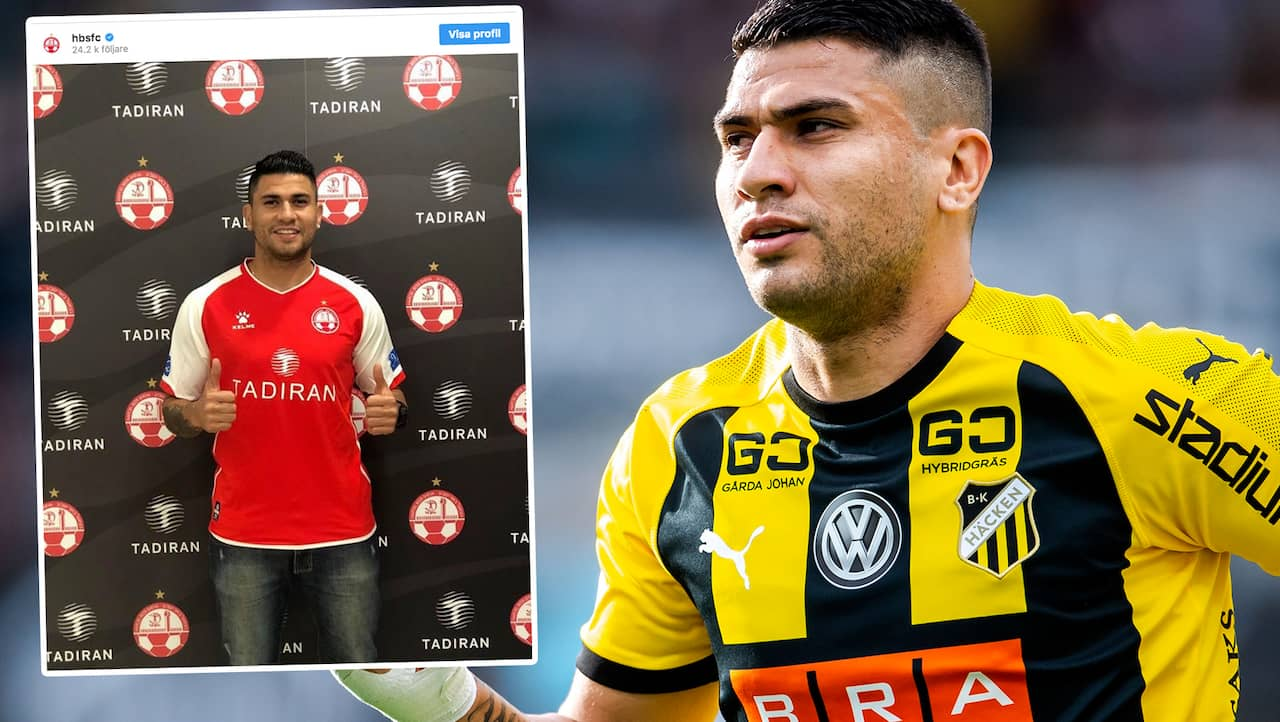 Chocken: Paulinho lämnar Häcken – presenterad av ny klubb