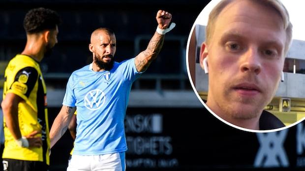 Häcken kvitterade i 92:a minuten mot Malmö FF