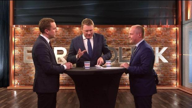 Bara politik: Se hela debatten mellan Tomas Tobé och Morgan Johansson