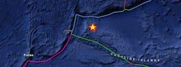 Jordskalv i Mikronesien på 6,8