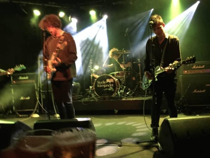 Bandet och deras manager dog när deras hyrbil störtade från en bro. Foto: John Olsson