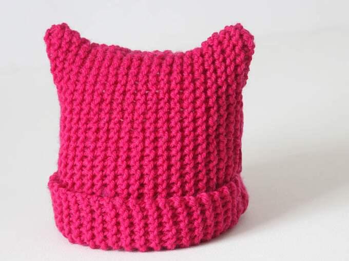 Hatten har använts under demonstrationer för kvinnors rättigheter.