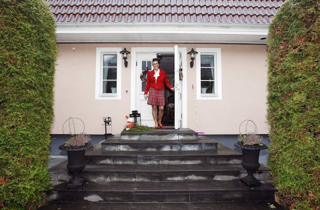 Städproffset Marléne Eriksson i sitt hem i södra Uppsala.