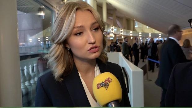 """Ebba Busch Thor (KD): """"Hoppas på att få svar från statsministern"""""""