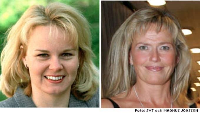 Åsa Edlund och Katarina Hulting - de sportjournalister som namngavs i Claes Runheims krönika. BILDSPECIAL: Här är alla Claes Runheims floppar och toppar!