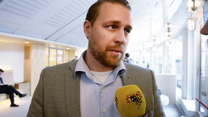 Mattias Karlsson (SD). Foto: OLLE SPORRONG