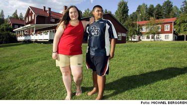 träningsläger för överviktiga