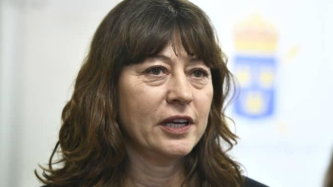 Lise Tamm tillträder snart som chef för Riksenheten mot internationell och organiserad brottslighet. Foto: CLAUDIO BRESCIANI/TT