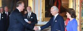 Kungen belönade Rustas grundare med medaljer