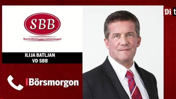 """SBB:s Vd Ilija Batljan: """"Risker är till för att hanteras, inte undvikas"""""""
