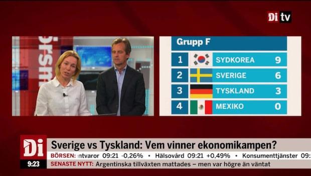 Vem vinner ekonomikampen Sverige - Tyskland?
