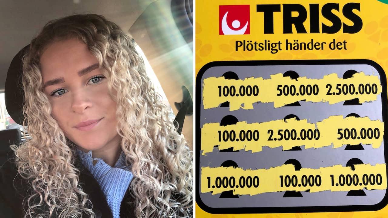 Annie, 21, trotsade sambon – då vann hon 100 000 kronor