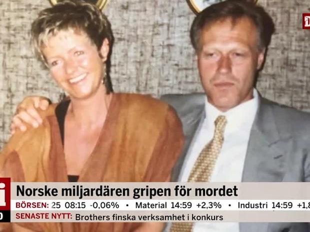 Norske miljardären gripen misstänkt för mordet