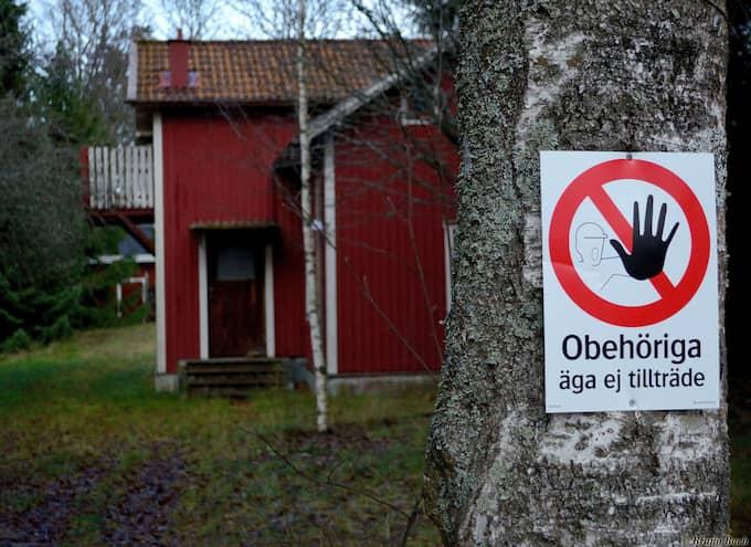 I Folkesta står flera hus tomma. Foto: / Bruno Bach