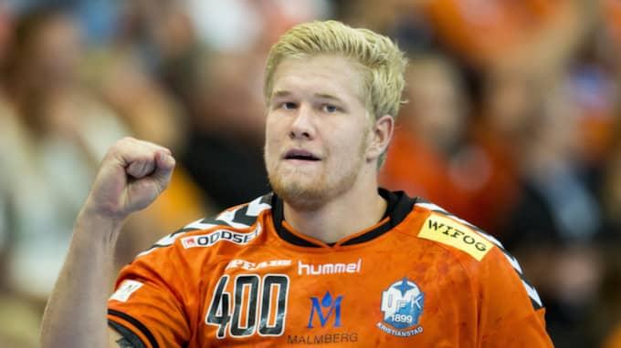 """""""Det kändes som vi hade rätt bra koll på dem och vi spelade bra försvar"""", säger Kristianstads Anton Lindskog. Foto: Petter Arvidson"""
