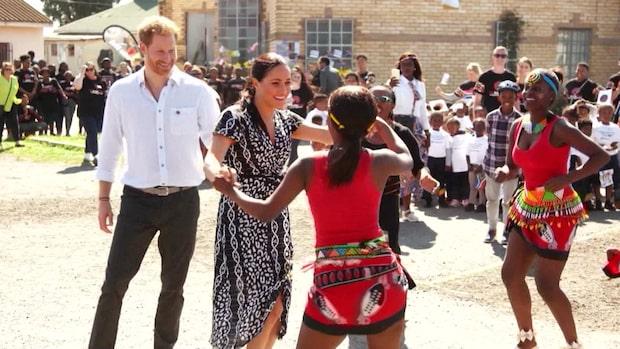 Meghan och Harrys tio dagar långa besök börjar i Kapstaden