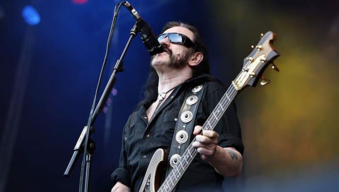 Lemmy Kilmister från Motörhead levde rocklivet in i döden