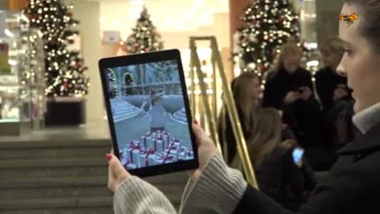 NK:s julskyltning avtäcks