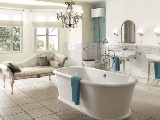 Badrummet är det nya finrummet!