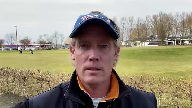Golftränaren ingår i studie – kan vara immun mot corona
