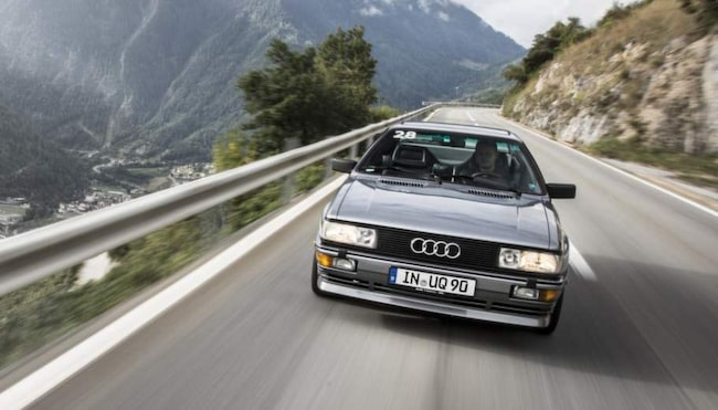 Ikonen Audi quattro.