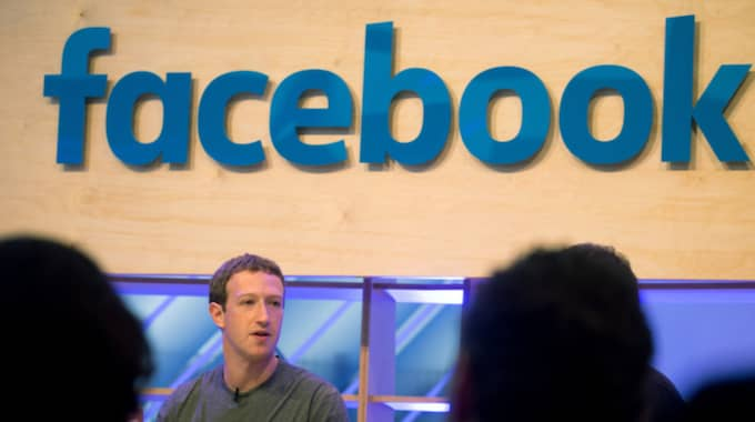 Mark Zuckberg, grundare av Facebook. Foto: Kay Nietfeld / AP TT NYHETSBYRÅN