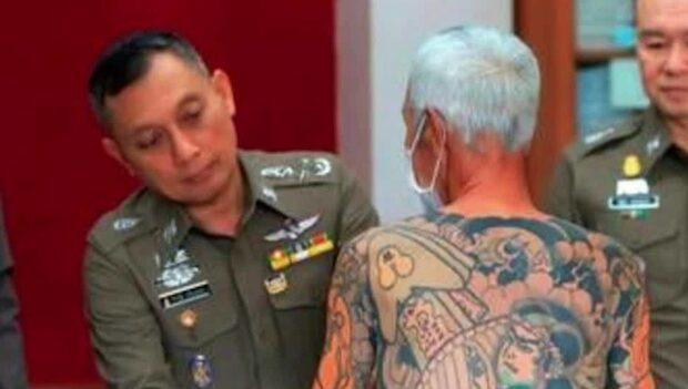 72-årig gängledare gripen - efter att ha blivit ofrivilligt viral
