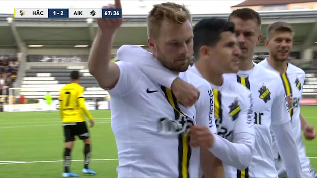 Highlights: Häcken-AIK