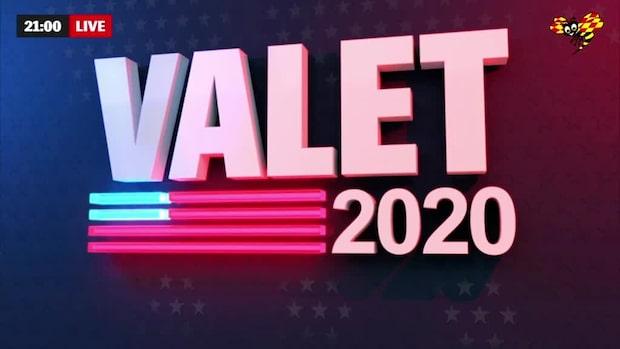 Expressens specialsändning om valet i USA 29 oktober