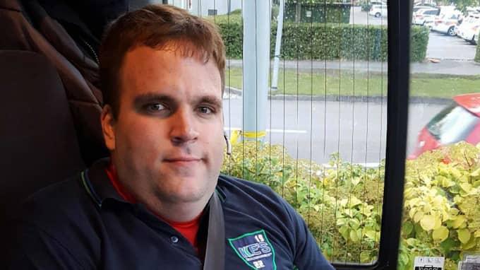 """""""Det får räcka nu, det här går inte längre"""", säger busschauffören Martin Andreasson. Foto: Privat"""