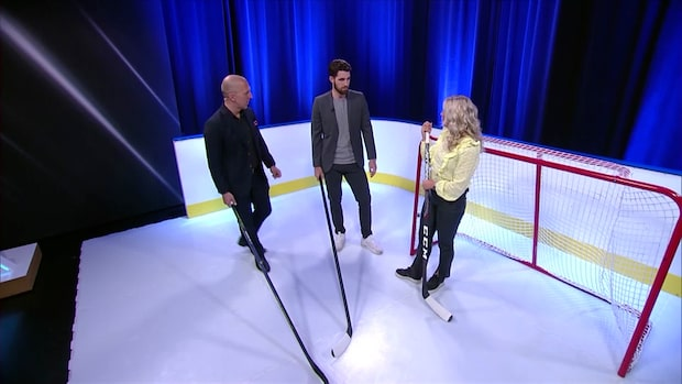 """Eriks hockeyskola om backarnas agerande: """"Ser mesigt ut"""""""
