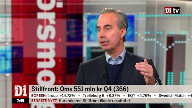 """Stillfronts vd: """"Vi har skapat många bra forutsättningar under 2019"""""""