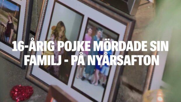 16-årig pojke mördade sin familj - på nyårsafton