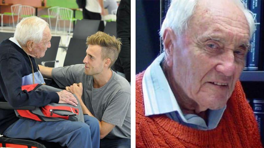 David Goodall är Australiens äldsta levande forskare.Så sent som vid