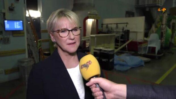 """Margot Wallström efter debatten: """"Kul att få käbbla lite"""""""