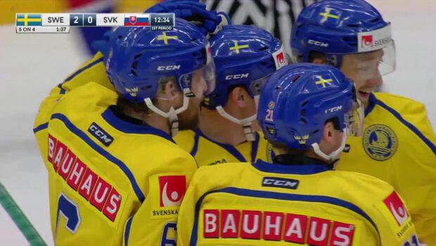 Höjdpunkter: Sverige-Slovakien