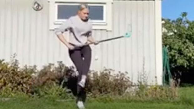 16-åriga Agnes världsmästare efter videon