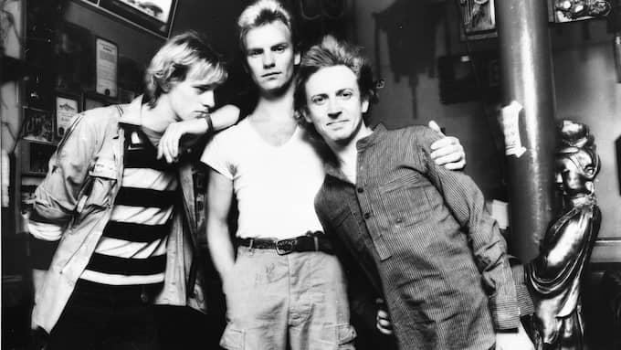 Sting med The Police. Foto: AP